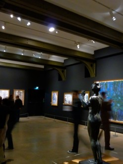Musee d'Orsay- Visitors admire the Impressionists