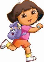 Dora the Explorer and Map