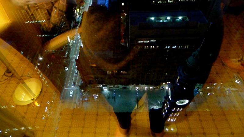 Sydney night reflections
