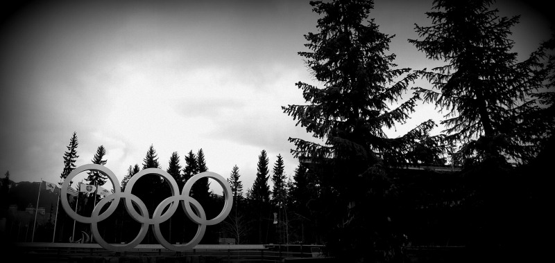 Olympic Rings in Whistler 2010