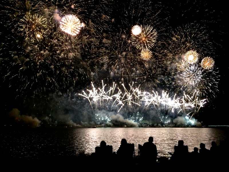 Canberra Skyfire- big fireworks celebration